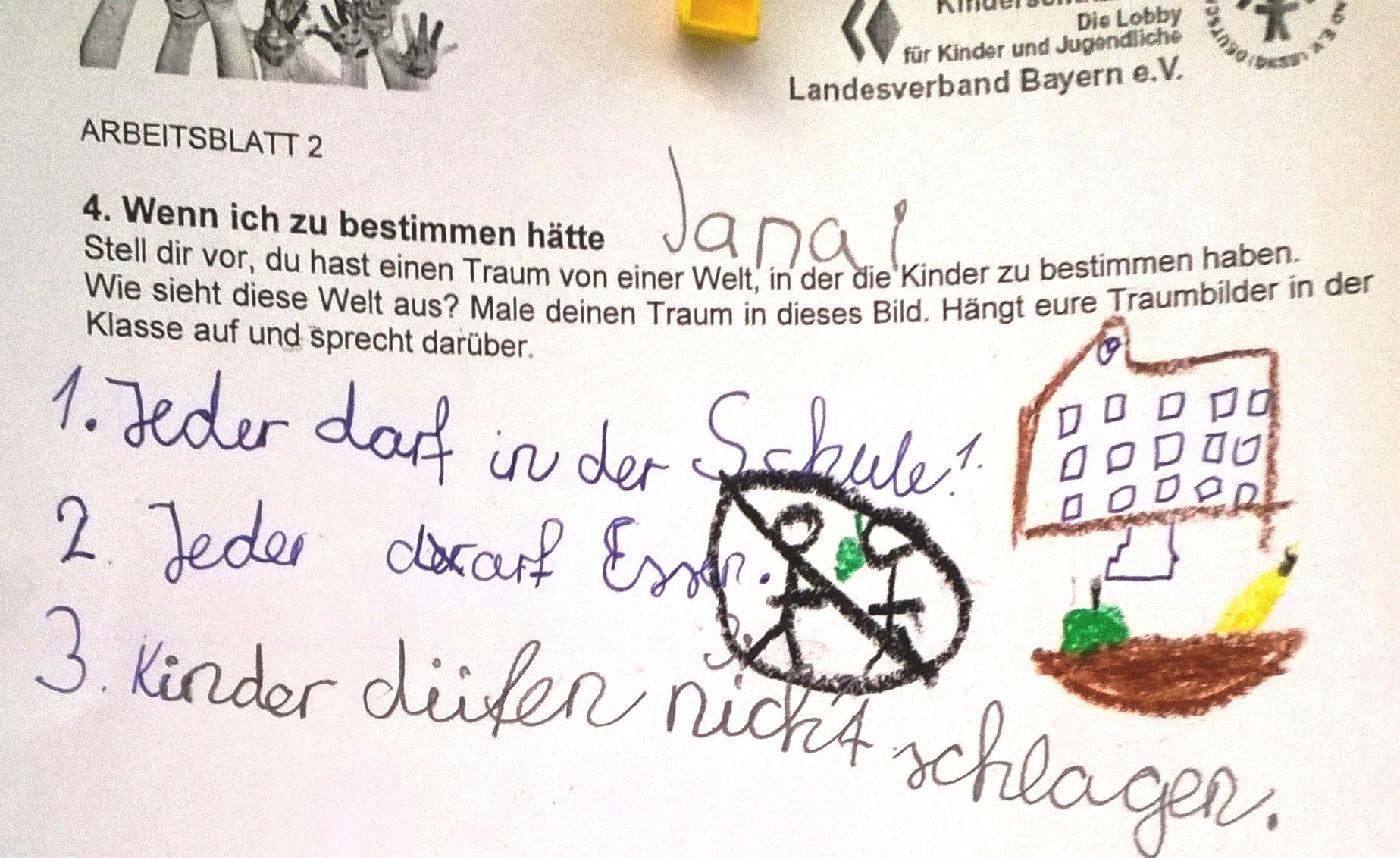 Arbeitsblatt2 | Deutscher Kinderschutzbund Landesverband Bayern