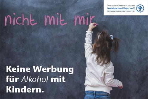 Alkohol und Kinder gehören nicht zusammen – auch nicht in Bayern