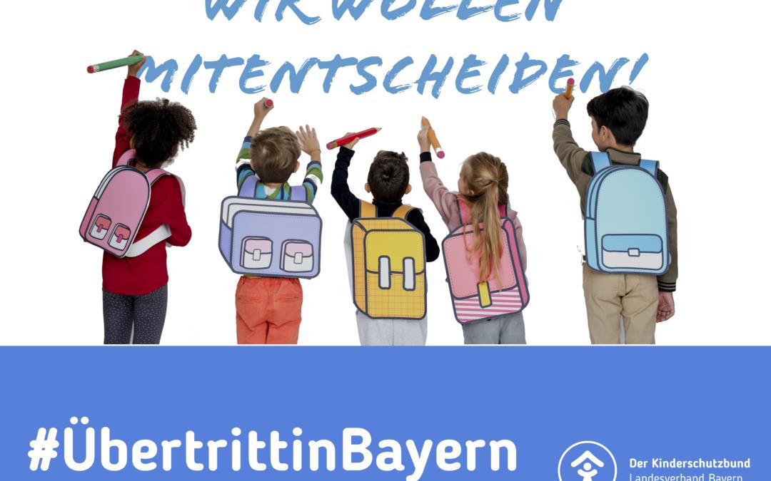 Offener Brief an Bayerische Staatskanzlei: Übertritt im Corona-Schuljahr – Der Eltern- und Kindeswille muss ausschlaggebend sein!